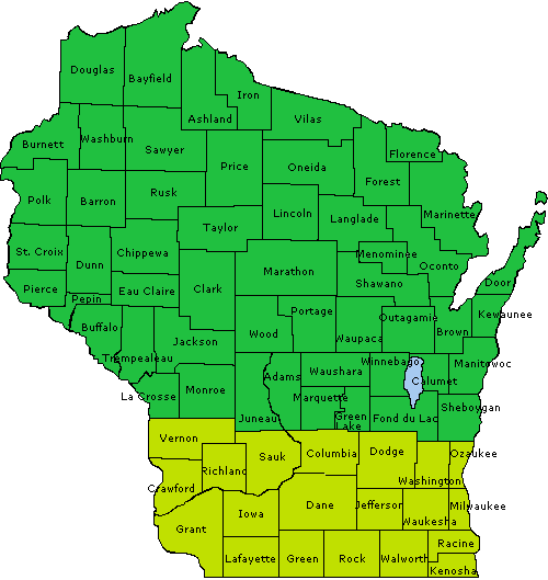 Northern counties have a final planting date of June 10. Southern counties have a date of June 15.